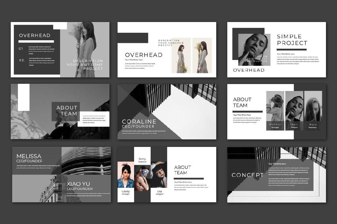 Overhead Creative Powerpoint, Slide 2, 06564, Presentation Templates — PoweredTemplate.com