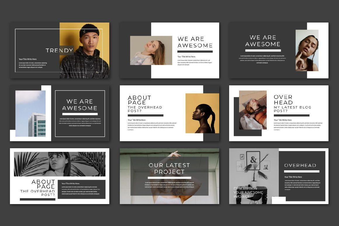 Overhead Creative Powerpoint, Slide 3, 06564, Presentation Templates — PoweredTemplate.com