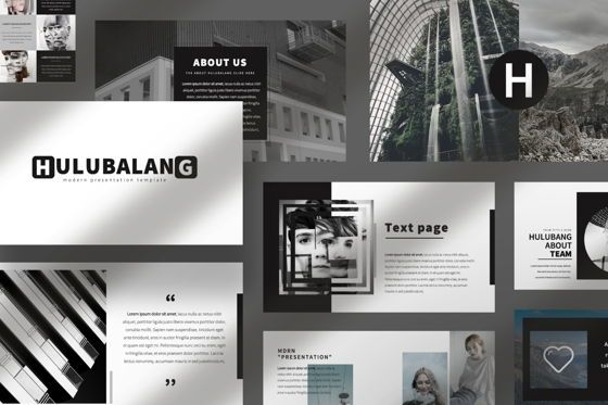 Presentation Templates: Hulubalang Business Keynote #06566