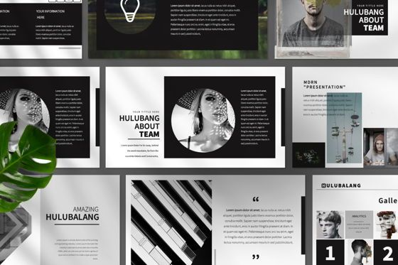 Presentation Templates: Hulubalang Business Powerpoint #06567