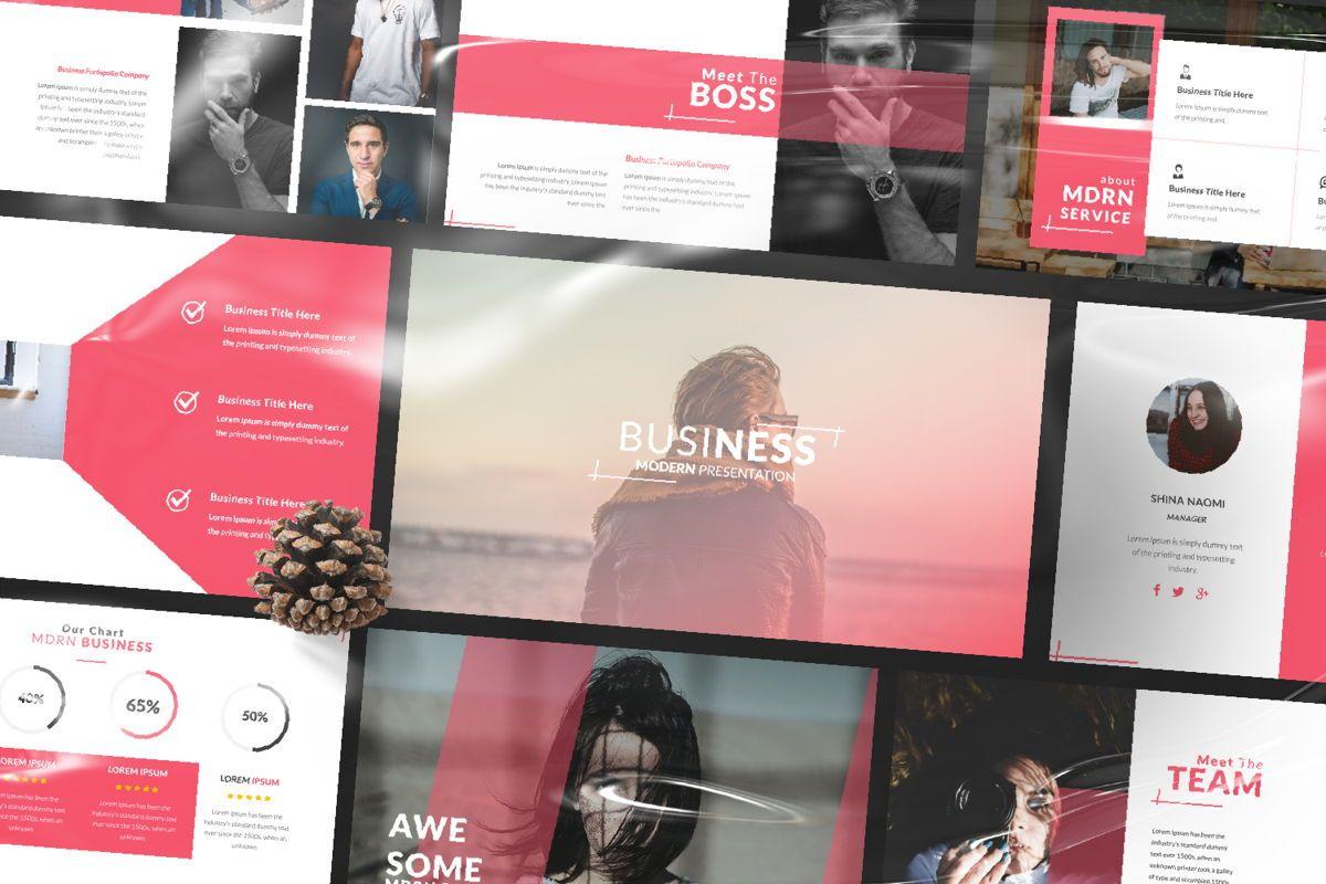 Business 2 Creative Google Slide, 06568, Presentation Templates — PoweredTemplate.com