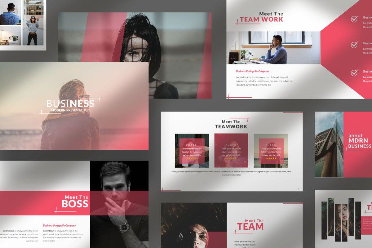Business 2 Creative Google Slide, Slide 10, 06568, Presentation Templates — PoweredTemplate.com