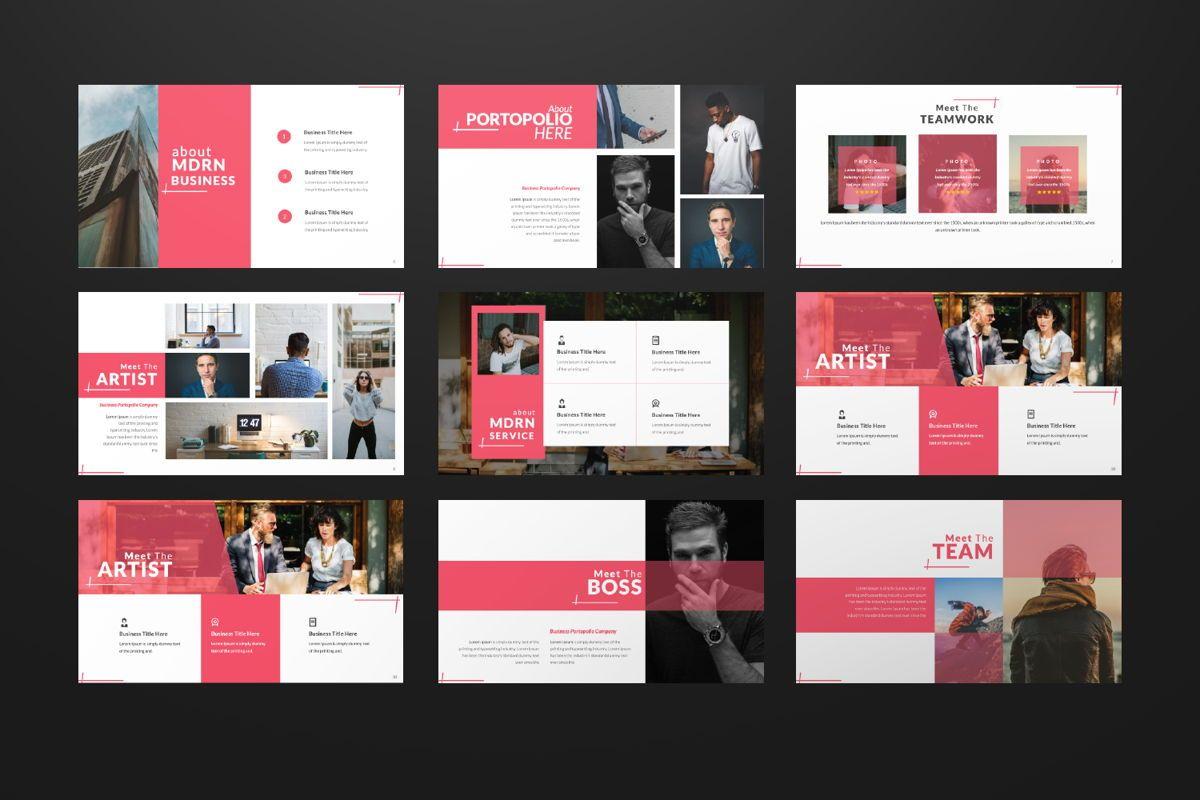 Business 2 Creative Google Slide, Slide 2, 06568, Presentation Templates — PoweredTemplate.com