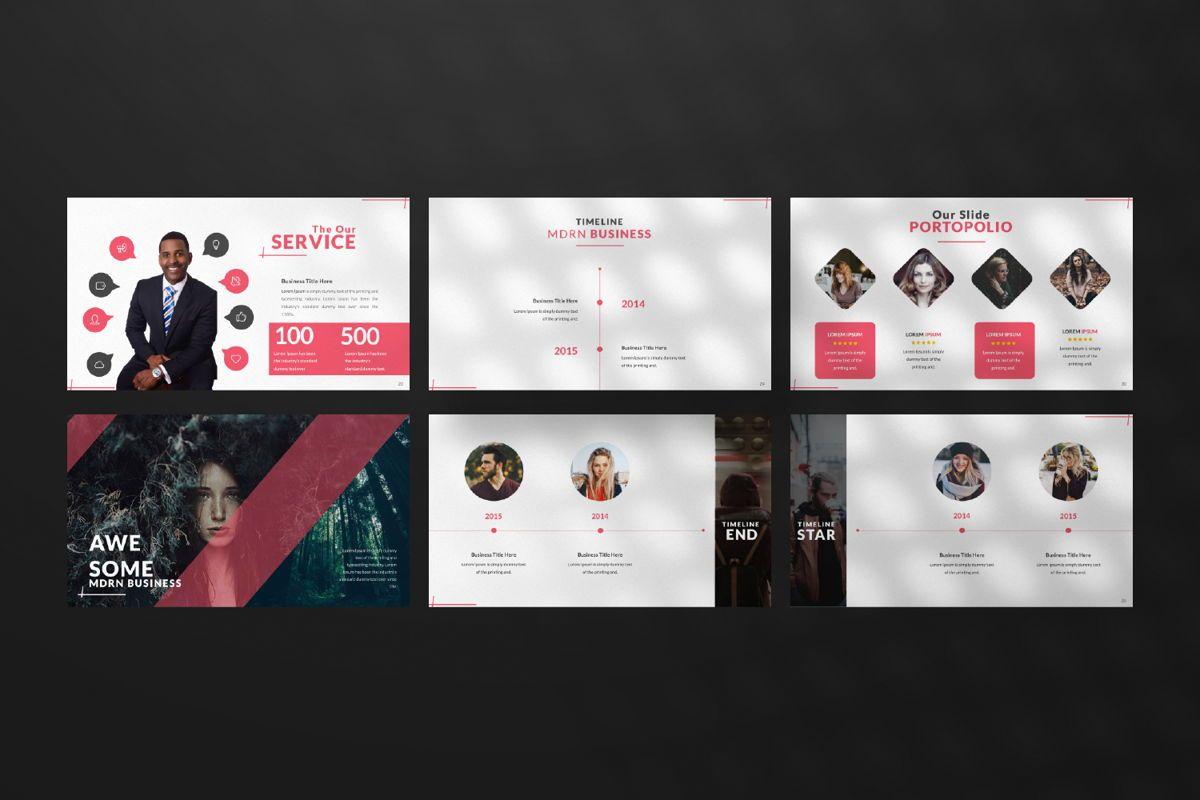 Business 2 Creative Google Slide, Slide 4, 06568, Presentation Templates — PoweredTemplate.com