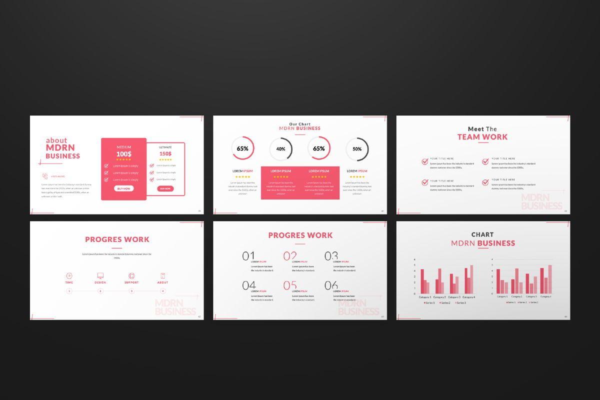 Business 2 Creative Google Slide, Slide 7, 06568, Presentation Templates — PoweredTemplate.com