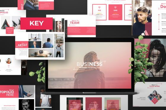 Presentation Templates: Business 2 Creative Keynote #06569