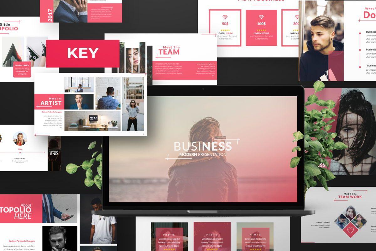 Business 2 Creative Keynote, 06569, Presentation Templates — PoweredTemplate.com