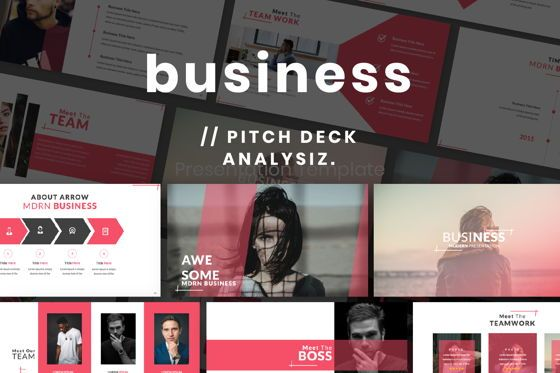 Presentation Templates: Business 2 Creative Powerpoint #06570