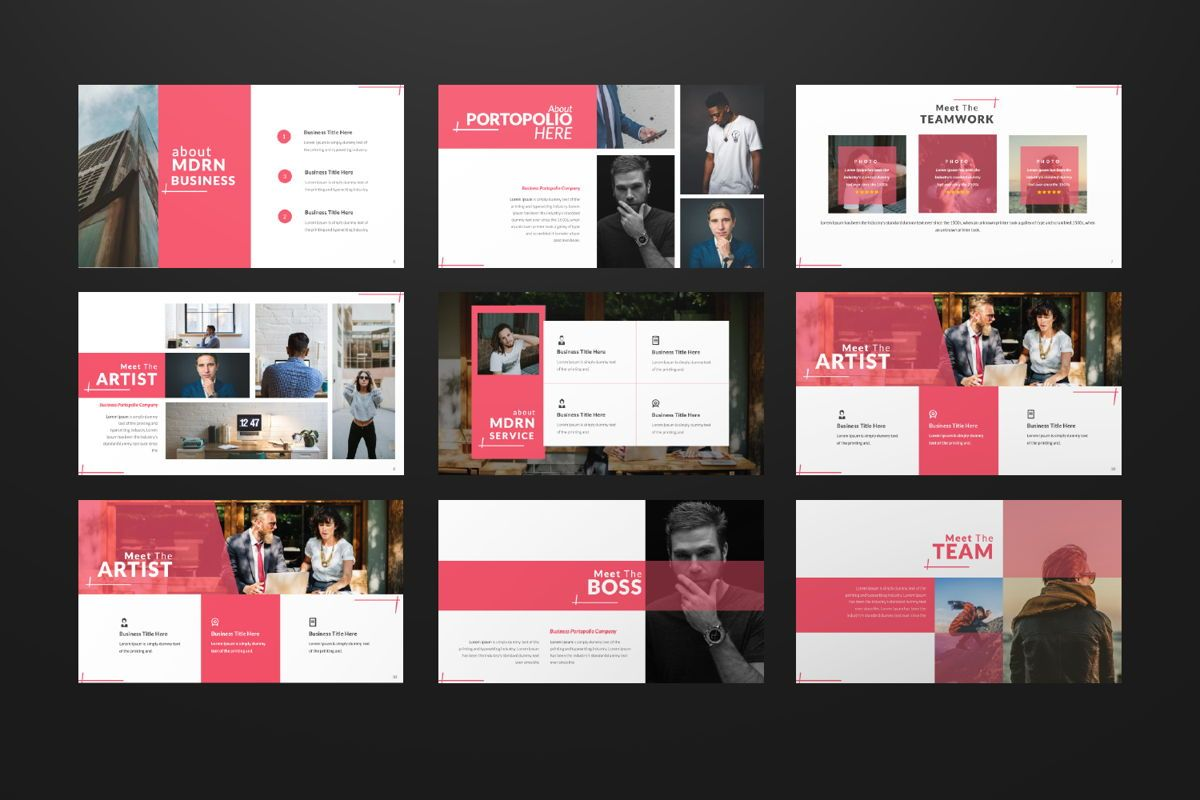 Business 2 Creative Powerpoint, Slide 2, 06570, Presentation Templates — PoweredTemplate.com