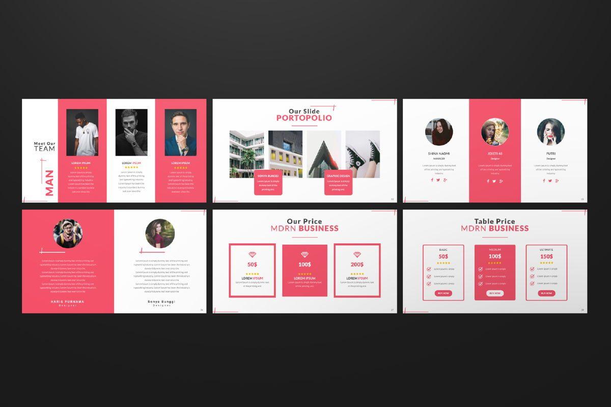 Business 2 Creative Powerpoint, Slide 6, 06570, Presentation Templates — PoweredTemplate.com