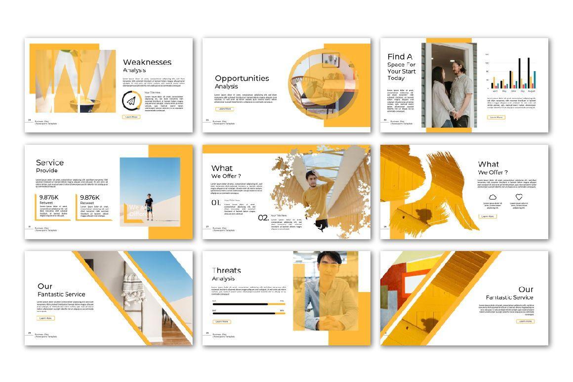 Business Plan Keynote, Slide 4, 06572, Presentation Templates — PoweredTemplate.com