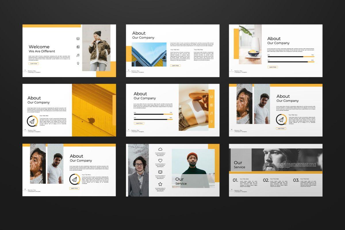 Business Plan Keynote, Slide 7, 06572, Presentation Templates — PoweredTemplate.com