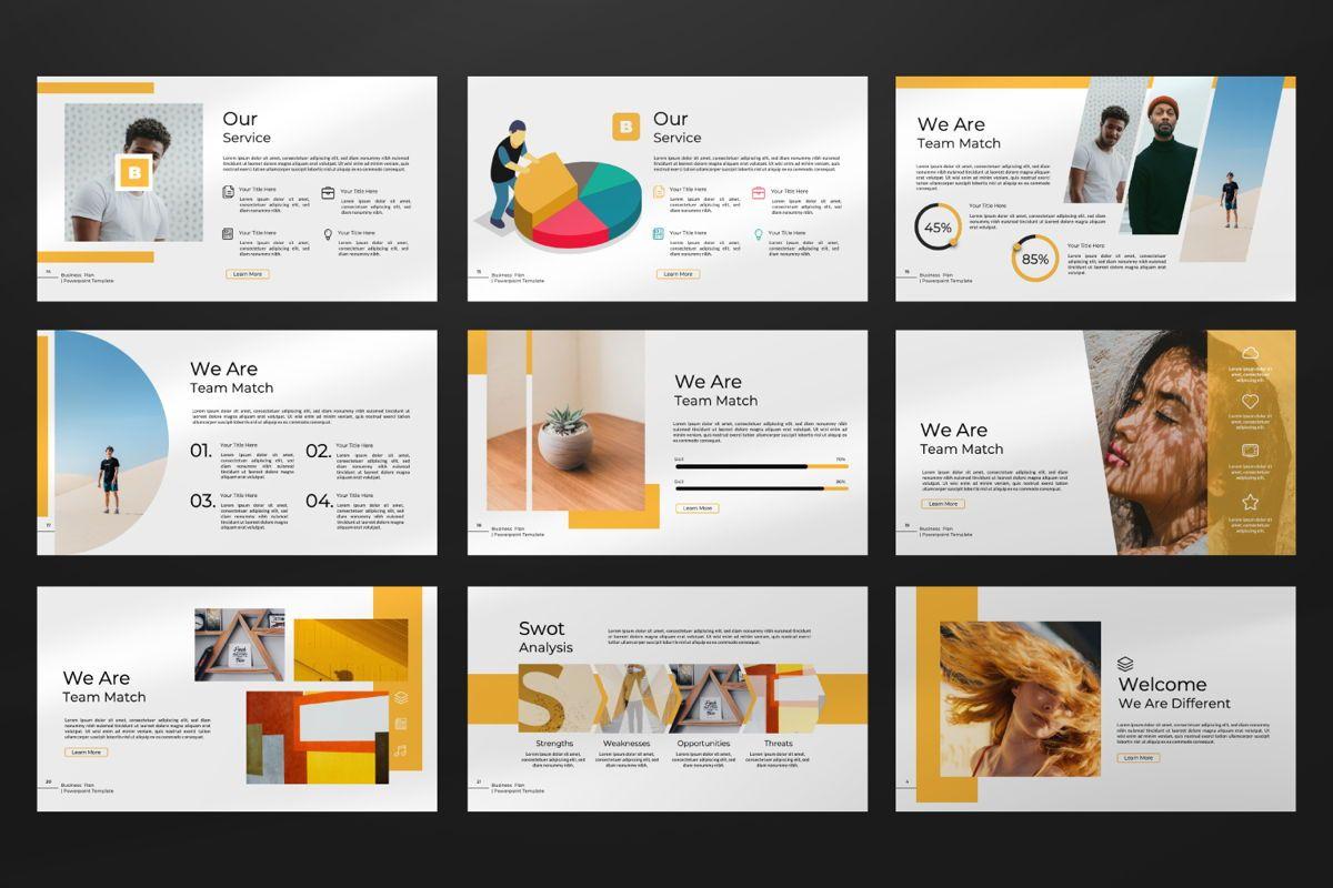 Business Plan Keynote, Slide 8, 06572, Presentation Templates — PoweredTemplate.com