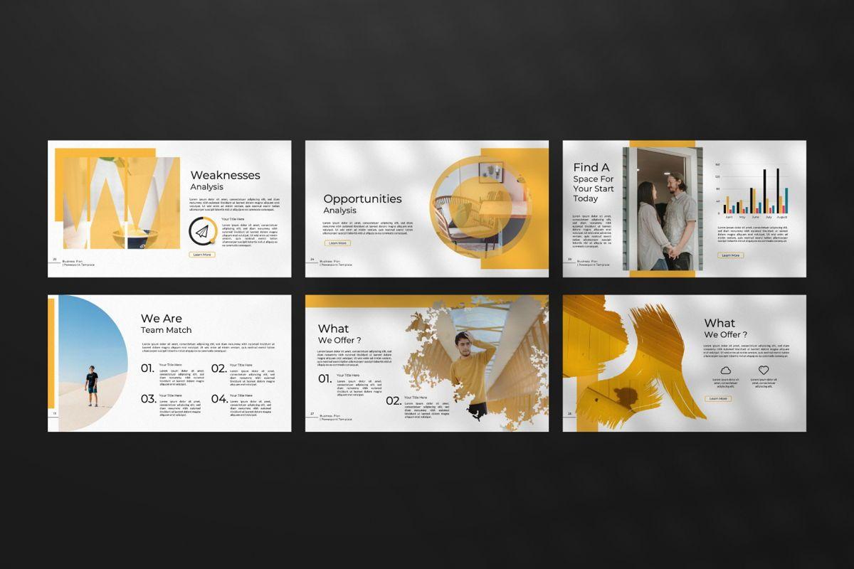 Business Plan Keynote, Slide 9, 06572, Presentation Templates — PoweredTemplate.com