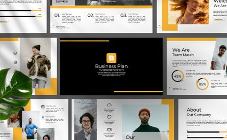 Presentation Templates: Business Plan Google Slide #06573