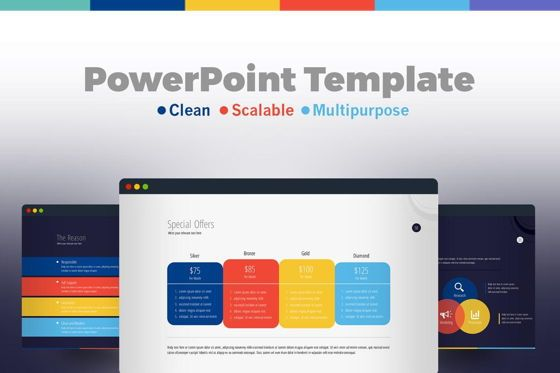Infographics: Business PowerPoint Presentation Template #06574