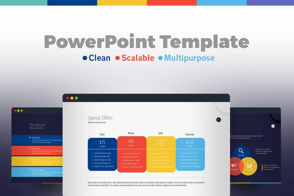 Business PowerPoint Presentation Template, 06574, Infographics — PoweredTemplate.com