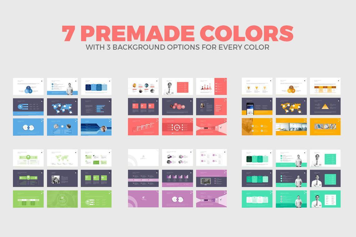Business PowerPoint Presentation Template, Slide 10, 06574, Infographics — PoweredTemplate.com