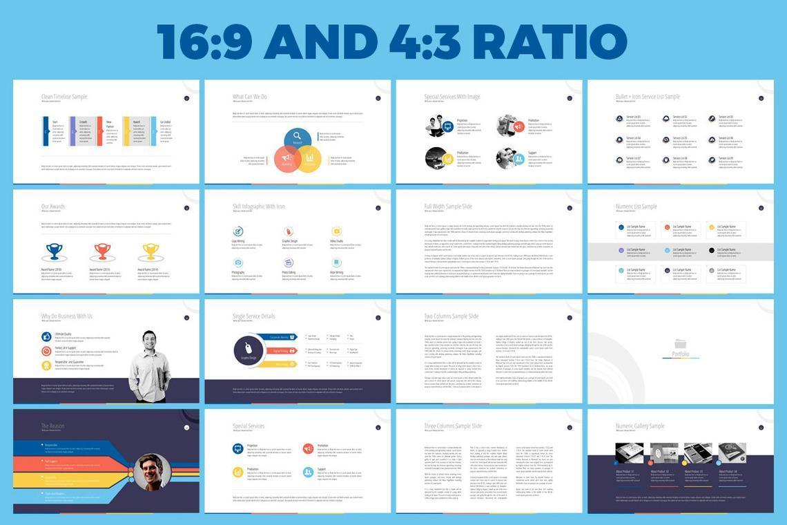 Business PowerPoint Presentation Template, Slide 3, 06574, Infographics — PoweredTemplate.com