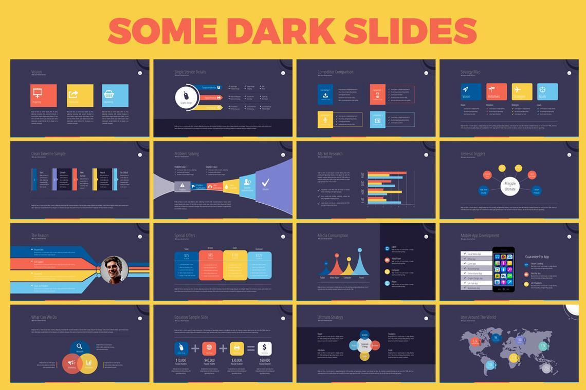 Business PowerPoint Presentation Template, Slide 8, 06574, Infographics — PoweredTemplate.com