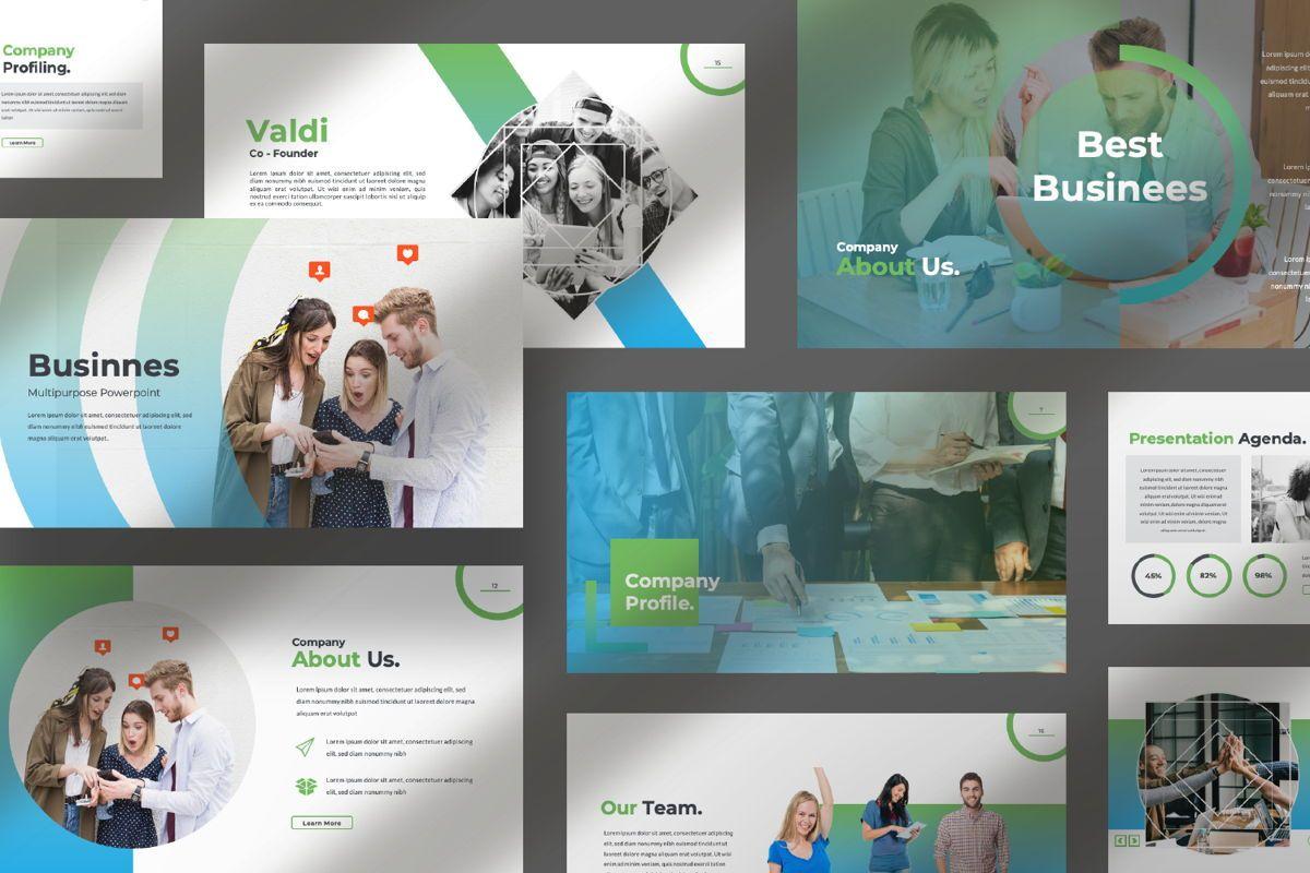 Multipurpose Business Powerpoint, Slide 10, 06580, Presentation Templates — PoweredTemplate.com