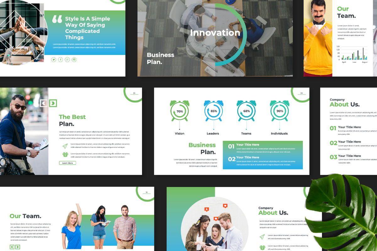 Multipurpose Business Powerpoint, Slide 8, 06580, Presentation Templates — PoweredTemplate.com