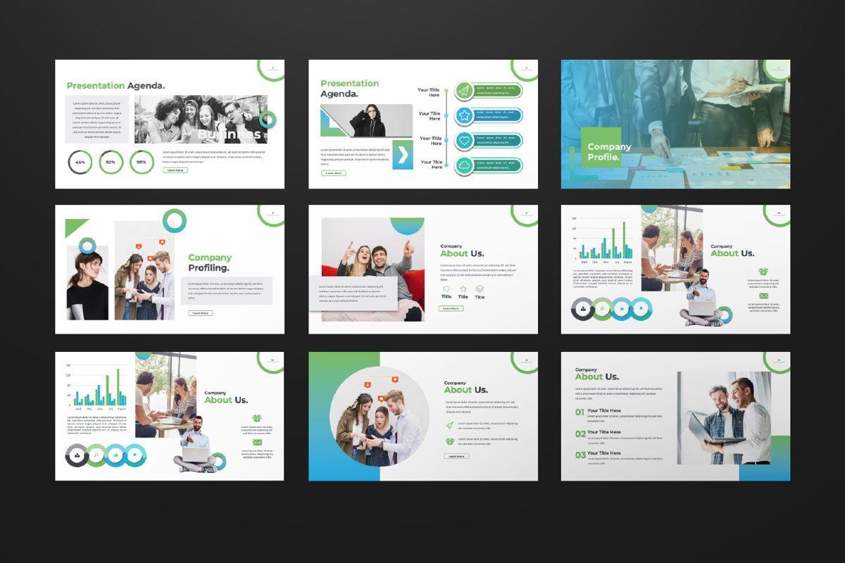 Multipurpose Business Google Slide, Slide 2, 06582, Presentation Templates — PoweredTemplate.com