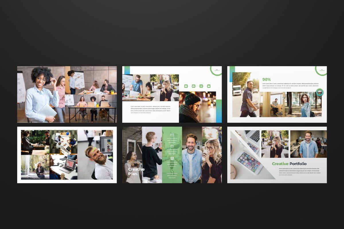 Multipurpose Business Google Slide, Slide 7, 06582, Presentation Templates — PoweredTemplate.com