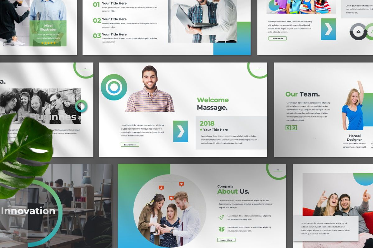 Multipurpose Business Google Slide, Slide 9, 06582, Presentation Templates — PoweredTemplate.com