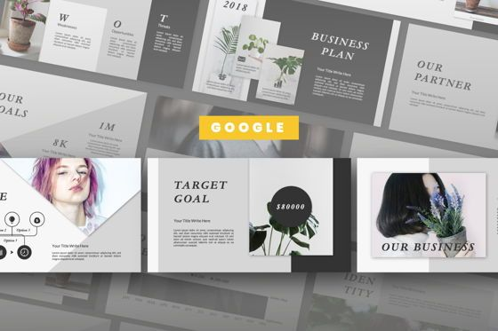 Presentation Templates: Lanina Business Google Slide #06583