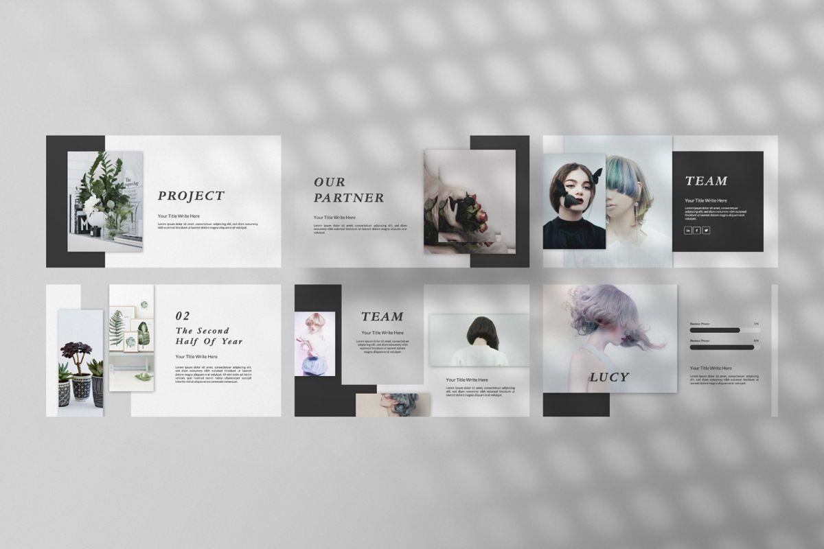 Lanina Business Google Slide, Slide 5, 06583, Presentation Templates — PoweredTemplate.com