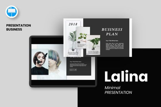 Presentation Templates: Lanina Business Keynote #06584