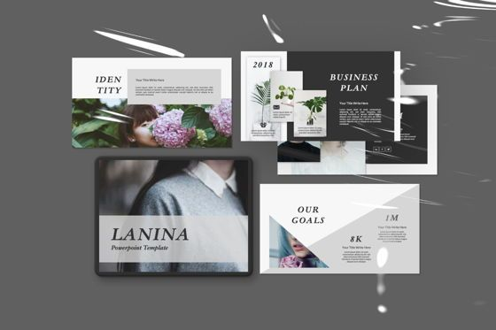 Presentation Templates: Lanina Business Powerpoint #06585