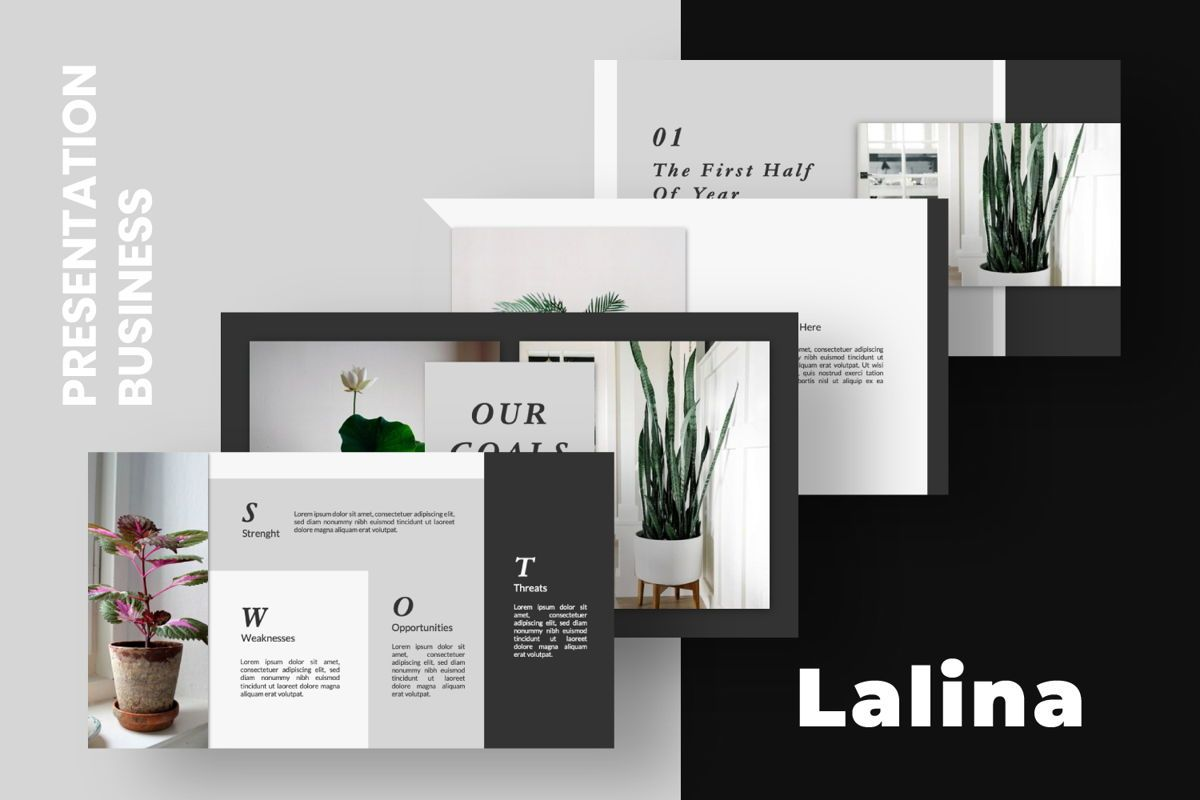 Lanina Business Powerpoint, Slide 2, 06585, Presentation Templates — PoweredTemplate.com