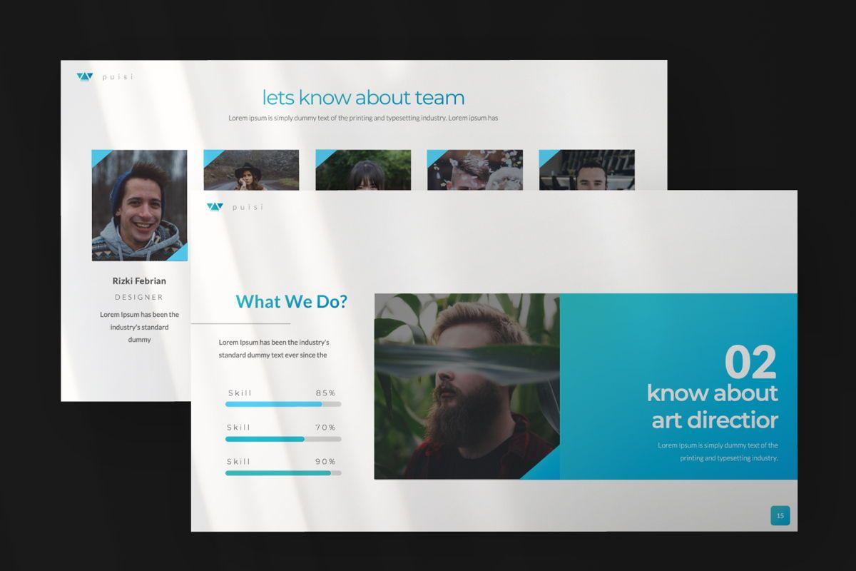 Puisi Business Google Slide, Slide 5, 06586, Presentation Templates — PoweredTemplate.com