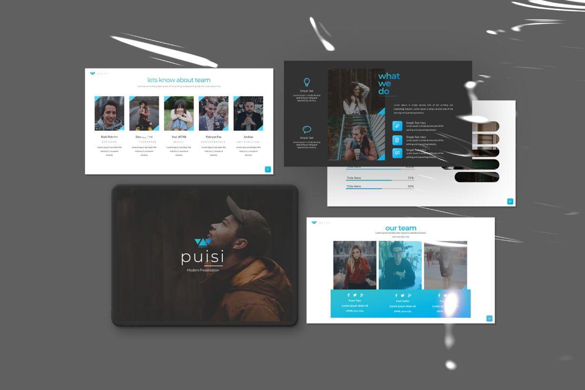 Puisi Business Keynote, Slide 2, 06587, Presentation Templates — PoweredTemplate.com