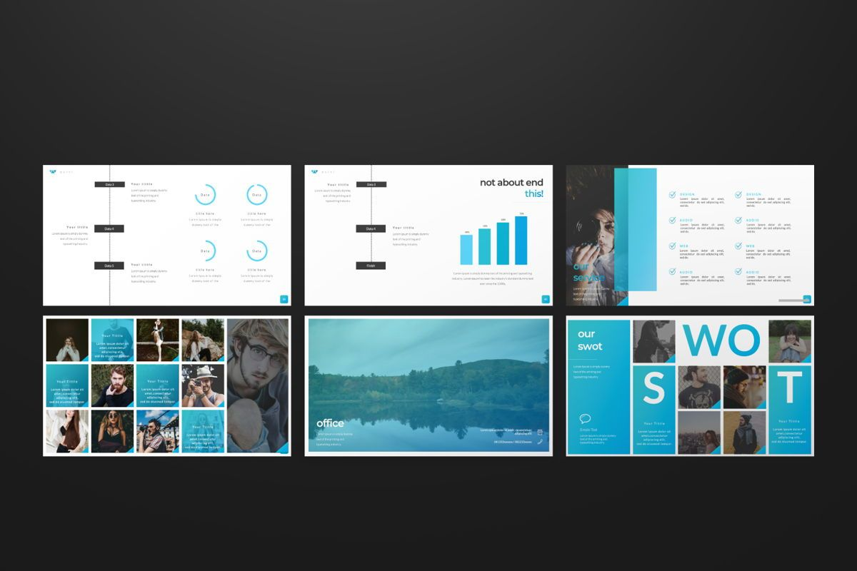 Puisi Business Powerpoint, Slide 8, 06588, Presentation Templates — PoweredTemplate.com