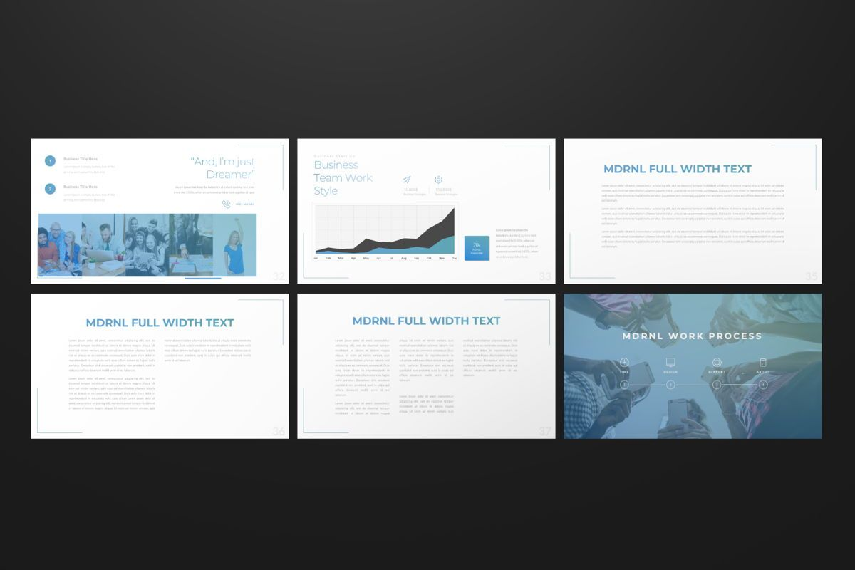 MDRNL Business Powerpoint, Slide 5, 06595, Presentation Templates — PoweredTemplate.com
