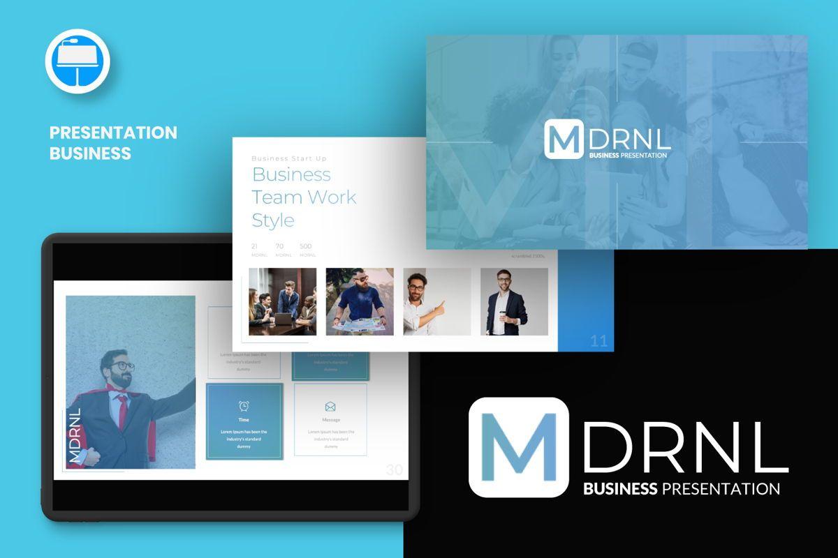 MDRNL Business Keynote, 06596, Presentation Templates — PoweredTemplate.com