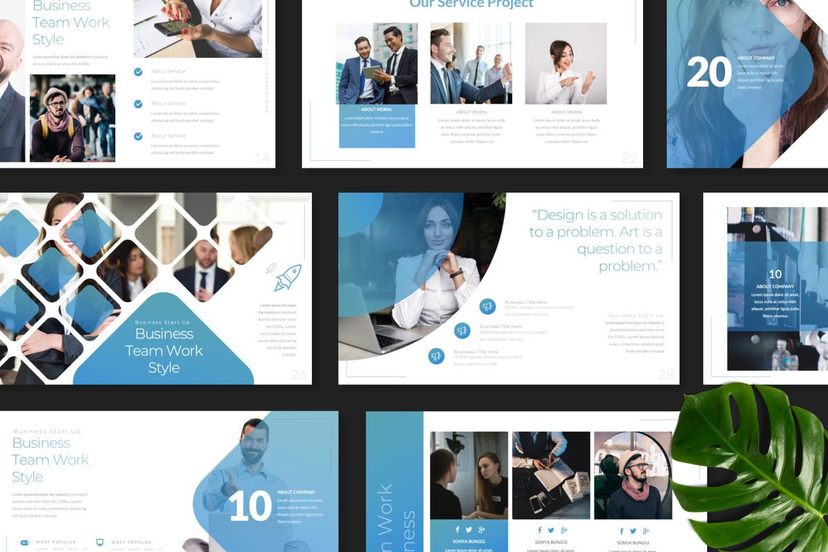 MDRNL Business Keynote, Slide 8, 06596, Presentation Templates — PoweredTemplate.com