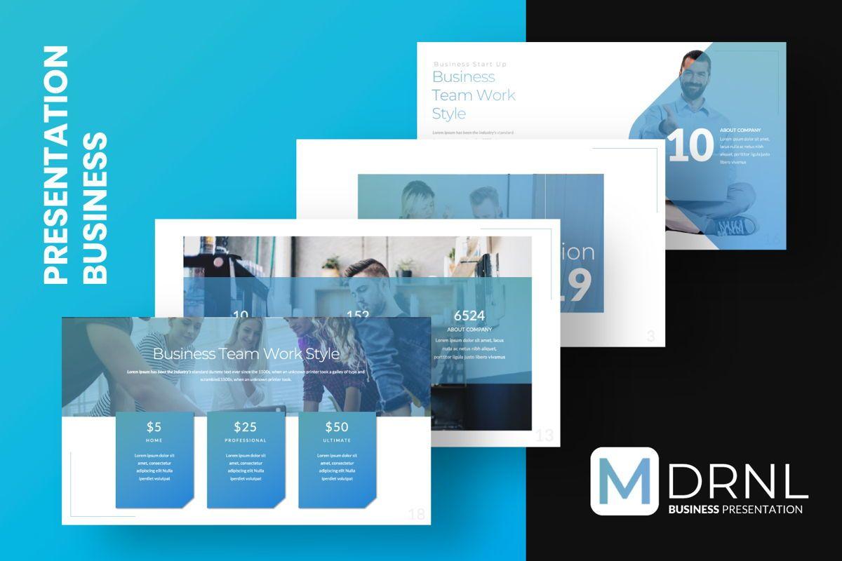MDRNL Business Google Slide, Slide 10, 06597, Presentation Templates — PoweredTemplate.com