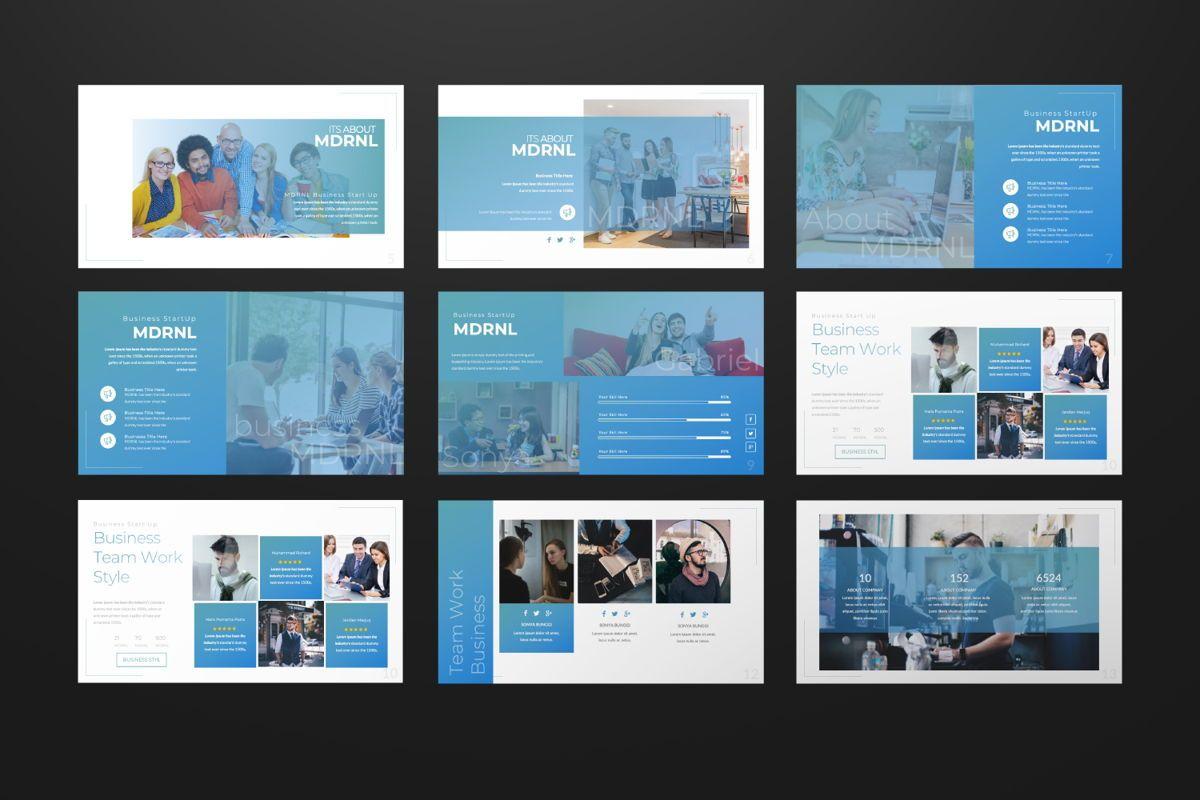 MDRNL Business Google Slide, Slide 2, 06597, Presentation Templates — PoweredTemplate.com