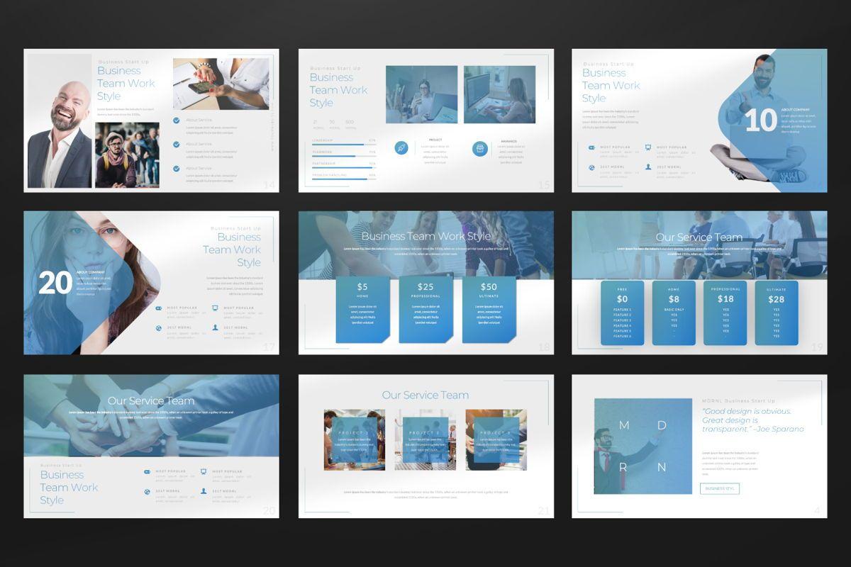MDRNL Business Google Slide, Slide 3, 06597, Presentation Templates — PoweredTemplate.com