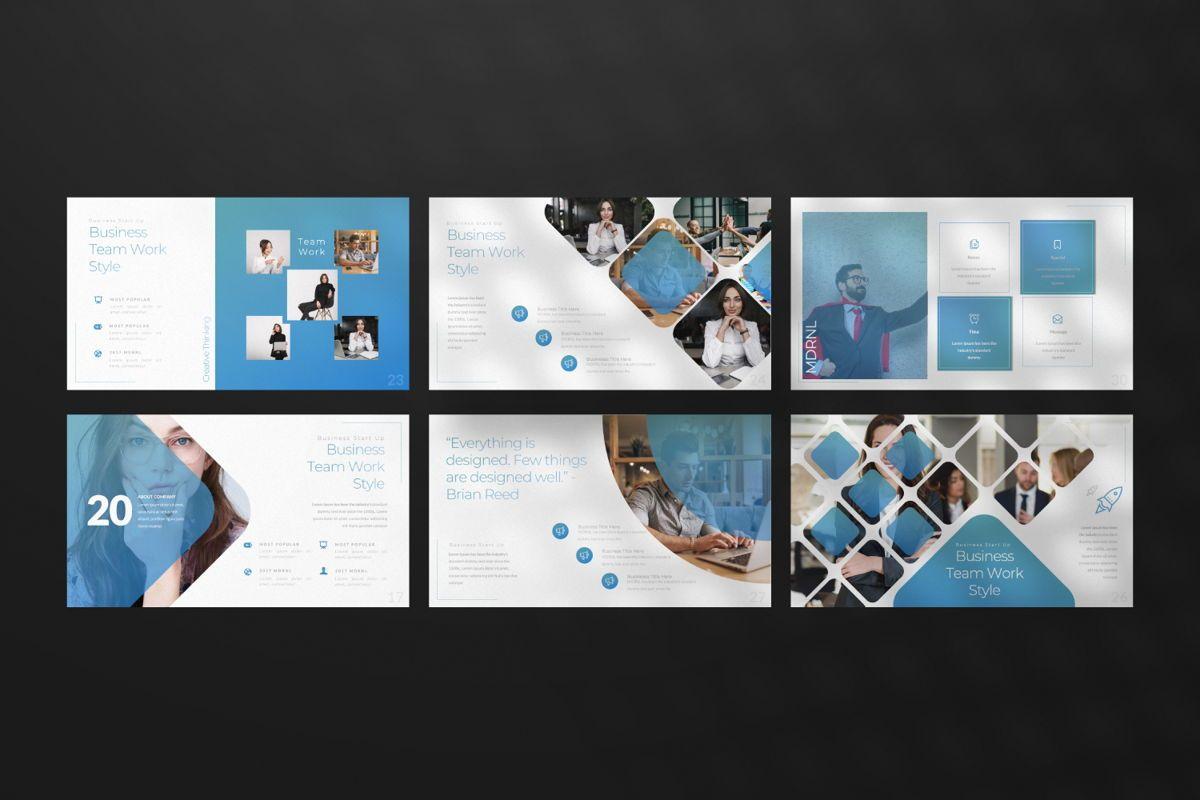 MDRNL Business Google Slide, Slide 4, 06597, Presentation Templates — PoweredTemplate.com