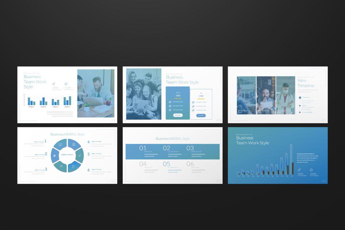 MDRNL Business Google Slide, Slide 6, 06597, Presentation Templates — PoweredTemplate.com