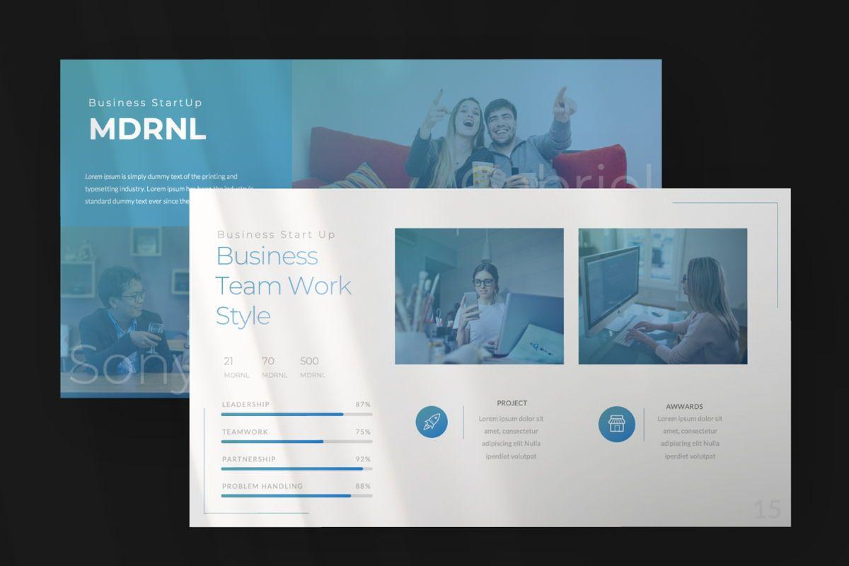 MDRNL Business Google Slide, Slide 7, 06597, Presentation Templates — PoweredTemplate.com