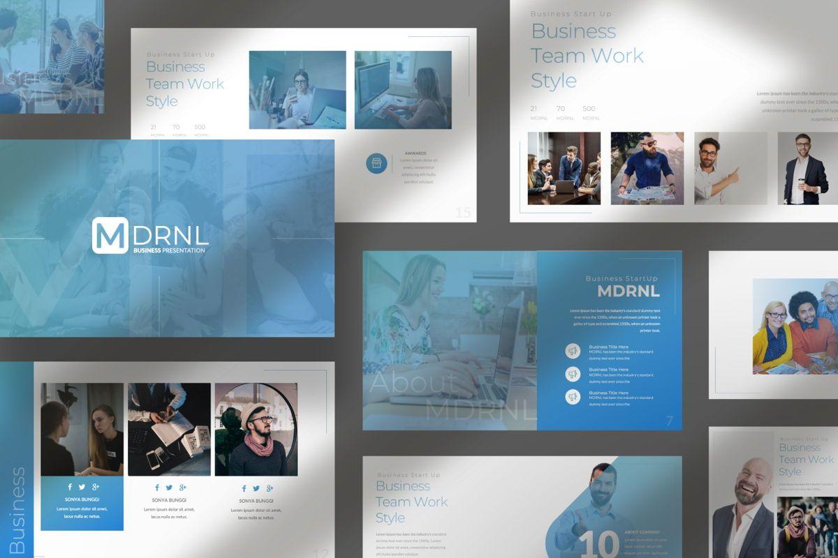 MDRNL Business Google Slide, Slide 9, 06597, Presentation Templates — PoweredTemplate.com