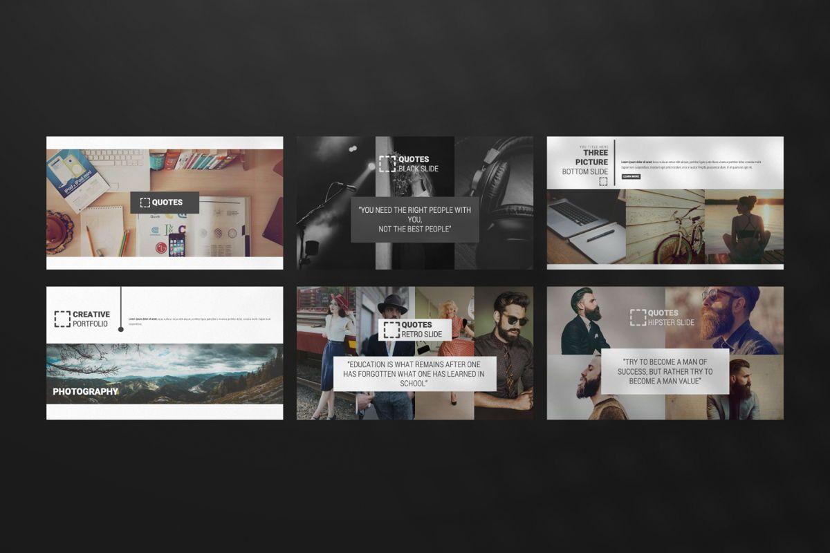 Laluna Creative Google Slide, Slide 4, 06598, Presentation Templates — PoweredTemplate.com