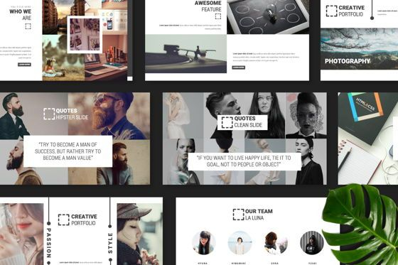 Presentation Templates: Laluna Creative Keynote #06599