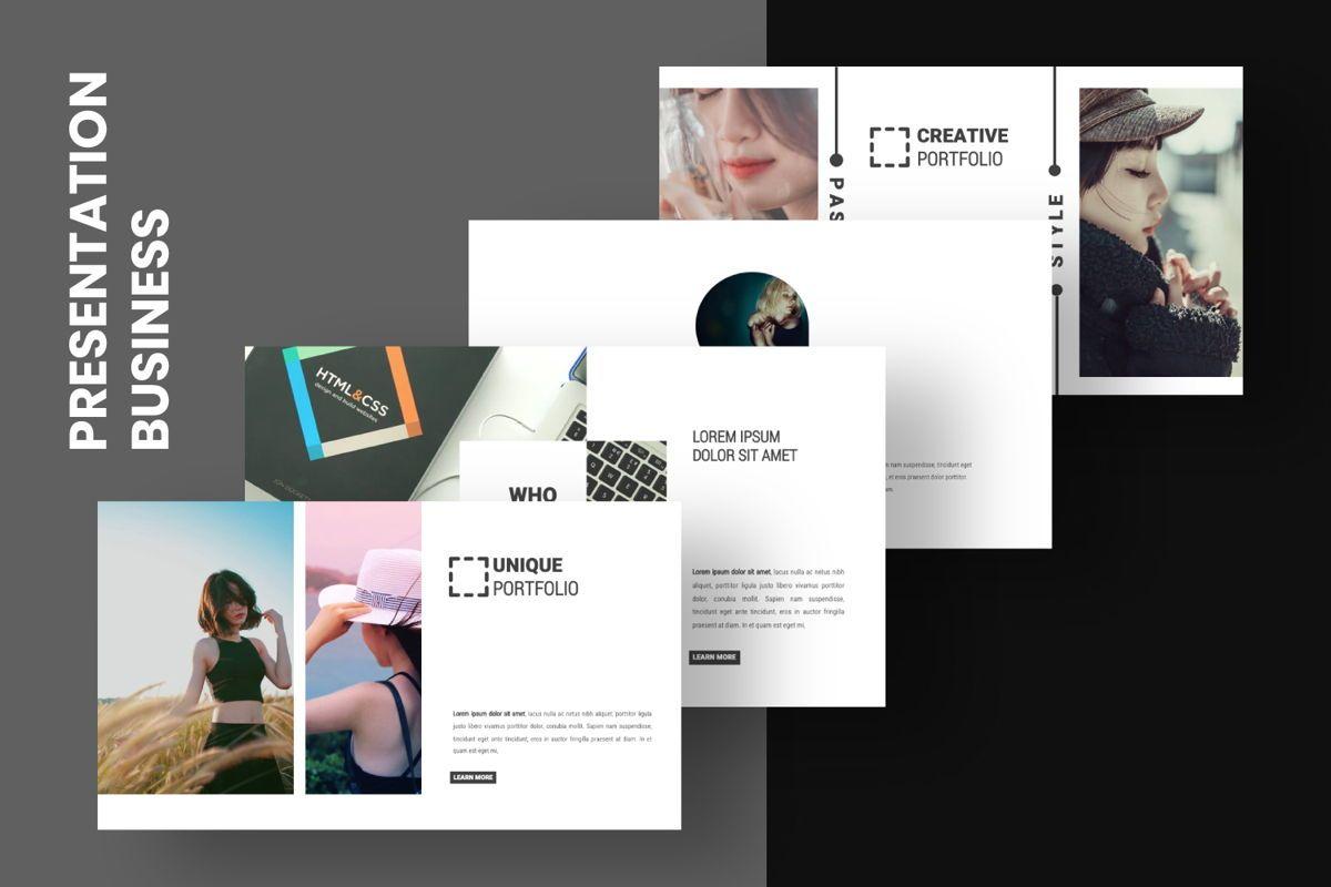 Laluna Creative Powerpoint, Slide 7, 06600, Presentation Templates — PoweredTemplate.com